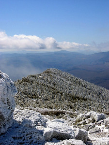 Looking south down Franconia Ridge