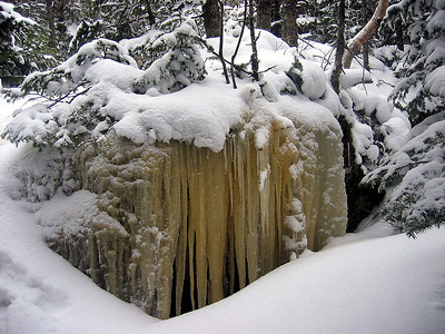 Big icicles