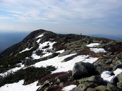 MtnPa walking across the ridge