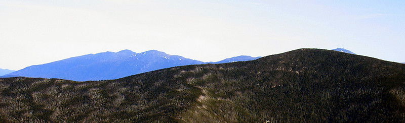 Mt. Washington peaking over North Twin