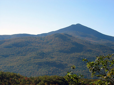 Looking back at Camel\'s Hump