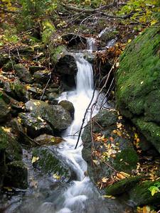 A little cascade in a brook