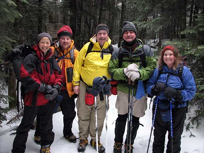 Kinsmans winter hike: Jan 13