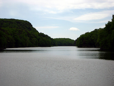 View of the reservoir