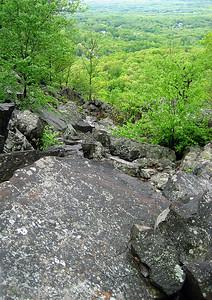 A big rock slide