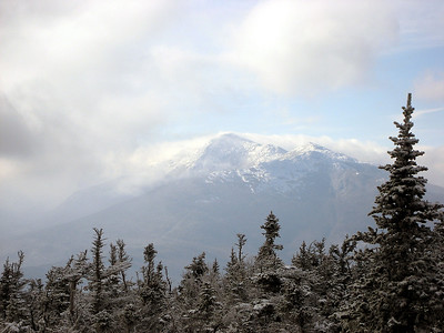 Mt. Madison emerging from the clouds