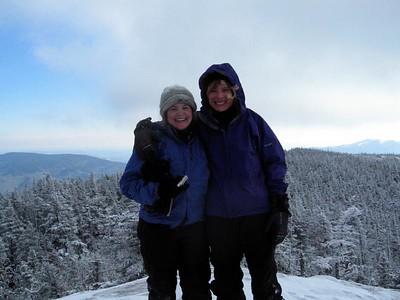 Me and Geri on Moriah\'s summit (photo courtesy of Bob Hayes)