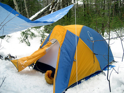 Pemi Wilderness winter backpack: March 10-11