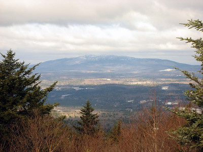 South Pack Monadnock and Blue Job firetower hikes: April 14