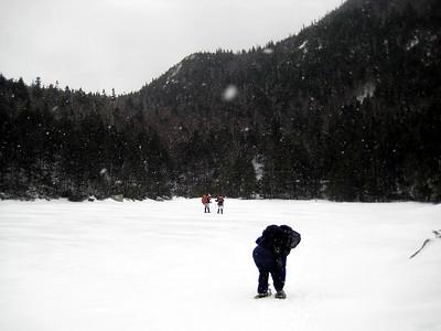 Crossing Carter Lake