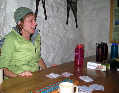 Geri celebrates her win