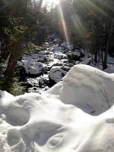 Snowy brook
