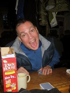 Bob (of Bob&Geri) loves cribbage