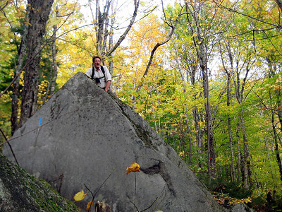 This was actually a pretty big boulder