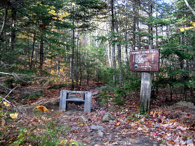 Katahdin trails were closed today.