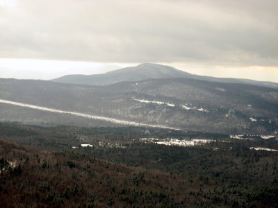 View from one of the ledges, looking into Vermont