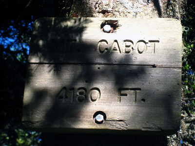 Atop 4,180-foot Mt. Cabot