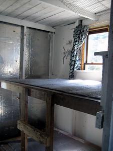 Bunks inside the cabin