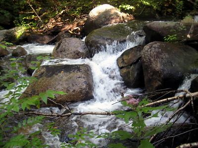 Little cascade in Mill Brook