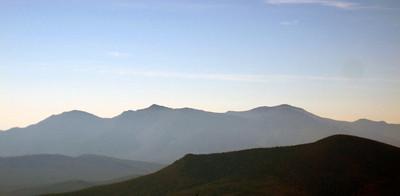 Presidential ridge, including Mt. Washington