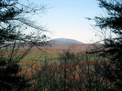 View of Mt. Monadnock... it's getting closer!
