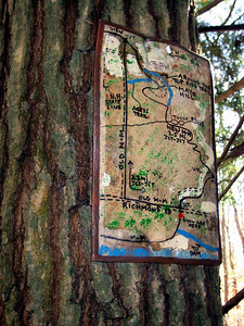 There is a long trail relocation in this section and this map describes the route.
