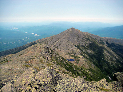 Looking down on Mt. Madison and Star Lake