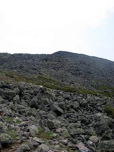 Still a ways to go before I reach the summit of Mt. Adams.