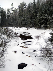 The inlet at Lonesome Lake