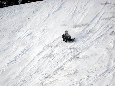 Kaboose sledding