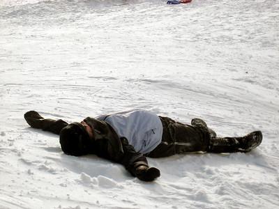 Kaboose after a sled run....