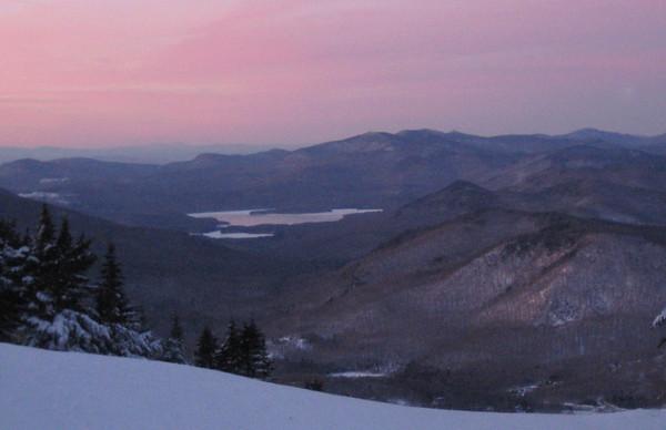 Pico Peak winter solstice hike