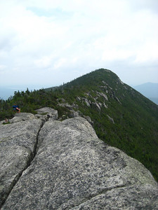 Looking over at the North Peak from the South