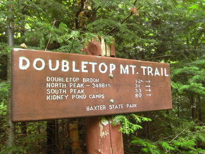 I hiked DoubleTop from the north, while everyone else hiked south (for car spotting purposes.)