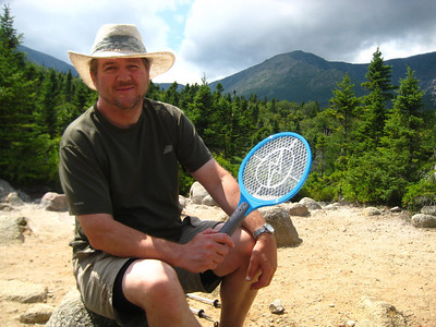 HikerBob with Glenn's fly zapper