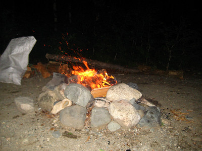 Campfire time....