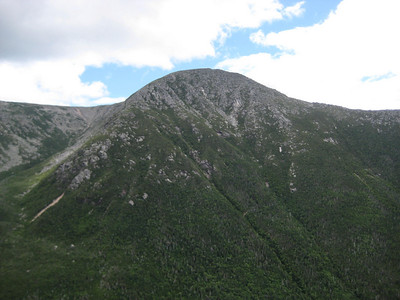 Katahdin from partway up The Owl