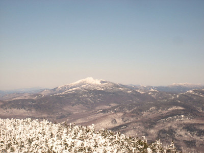 Close up of Mt. Mansfield