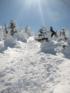 This section above treeline was just stellar.