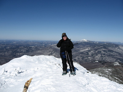 Me on Camels Hump (photo courtesy of Cumulus)