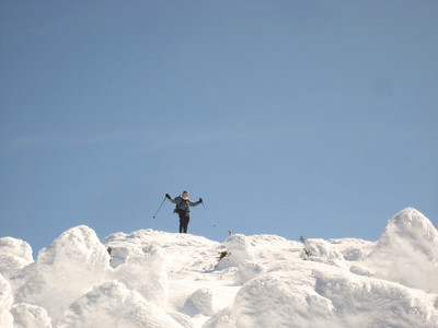 Cumulus on the summit