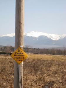 Unusual sign on Whipple Road