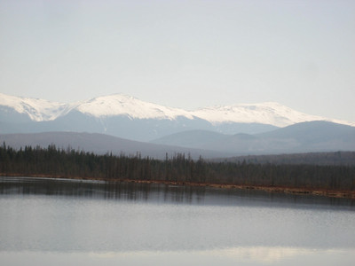Another shot of the Presidentials across the pond