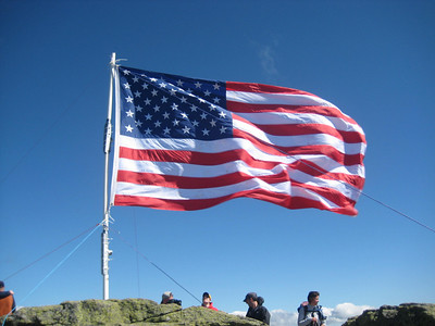 Flag on the summit