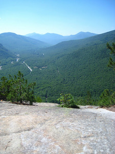 View from the first ledge on Frankencliff