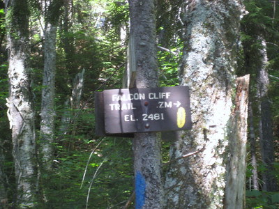 There was no way it was .7 to Falcon Cliff
