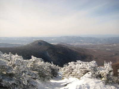 View of Mendon from the top of Killington