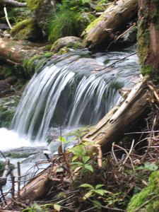 Little cascade in the Ammonoosuc River