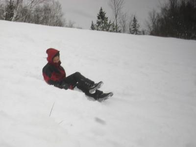 GetawayGirl sledding