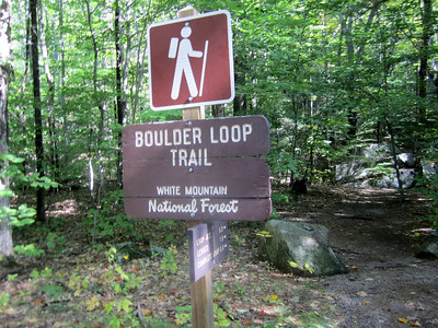 Sunday, we headed up the Boulder Loop Trail